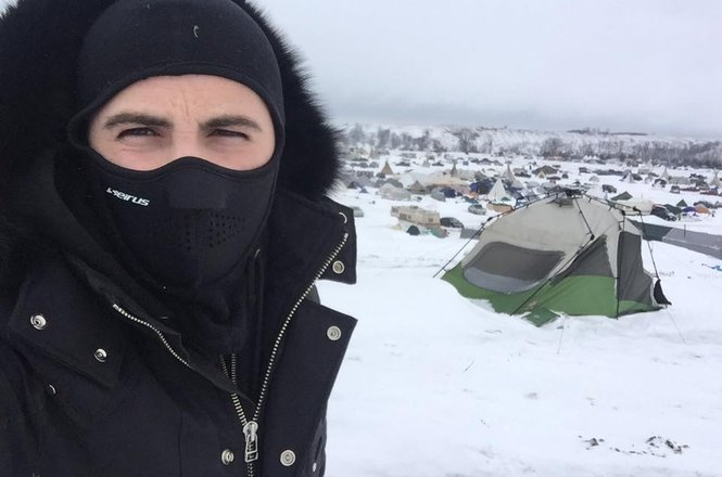 Jack Smith IV at Standing Rock