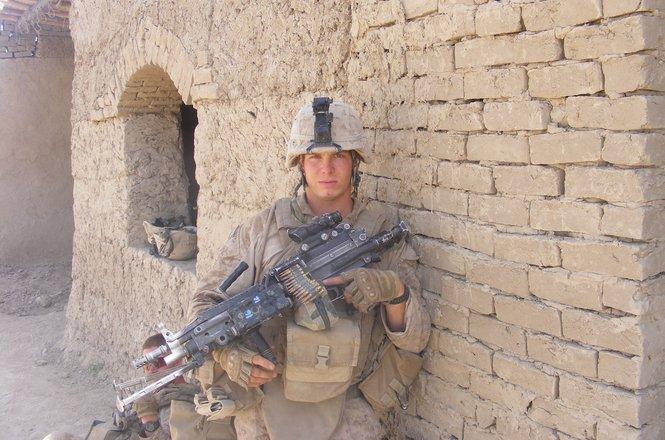 James LaPorta in Afghanistan