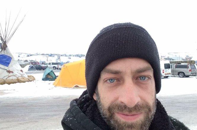 Jon Ziegler at Standing Rock