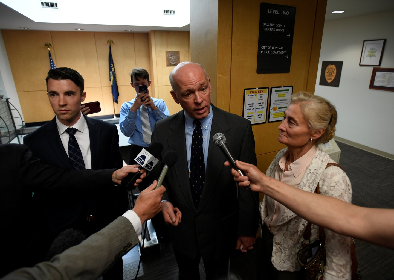 Greg Gianforte appears in court