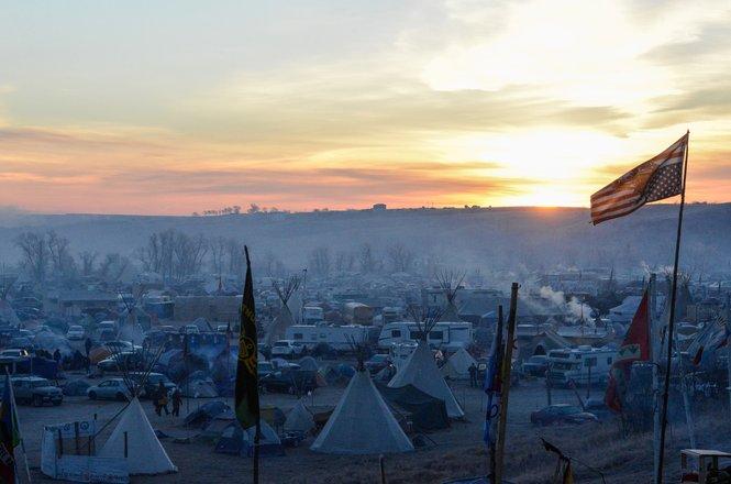 The Oceti Sakowin sunrise