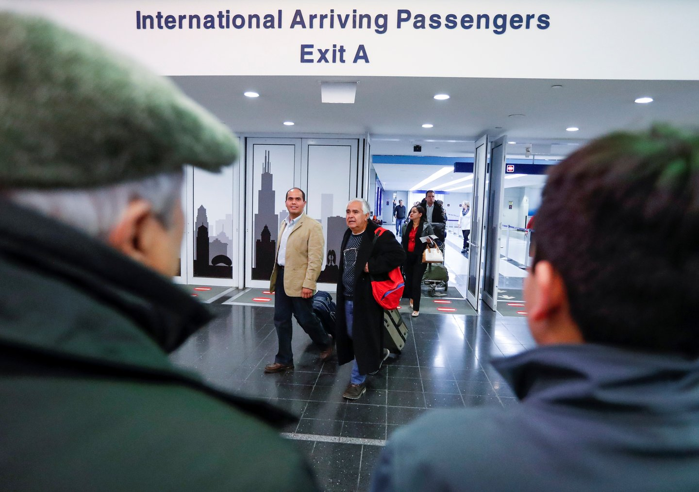 International Arrivals at O'Hare airport
