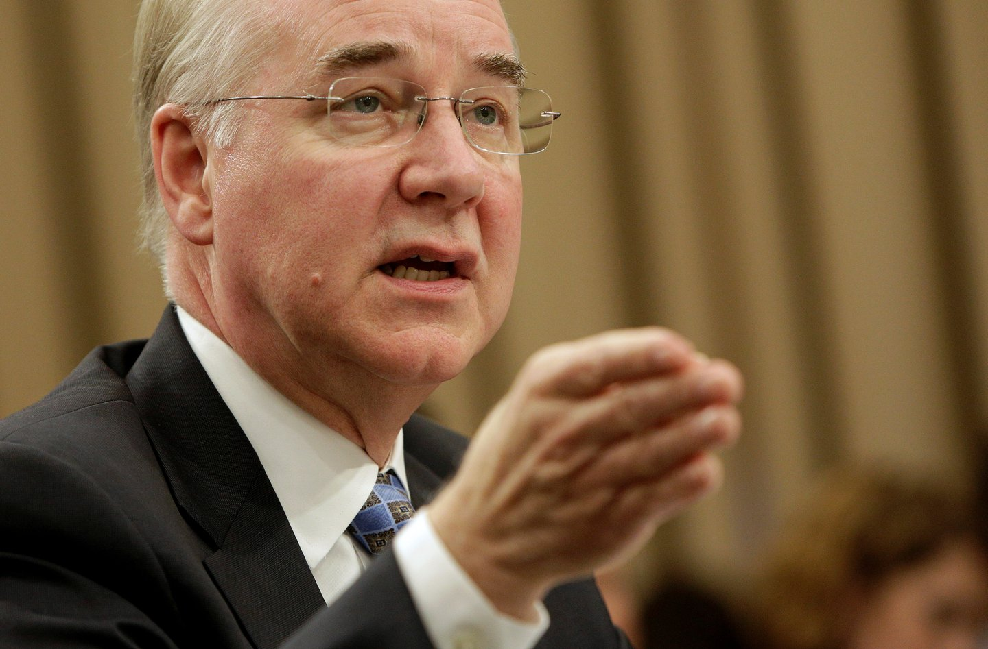 Secretary of Health and Human Services Tom Price