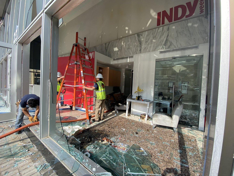 Raleigh_newsroom damage_0530