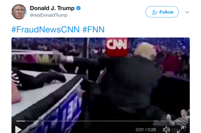 Trump CNN tweet 2