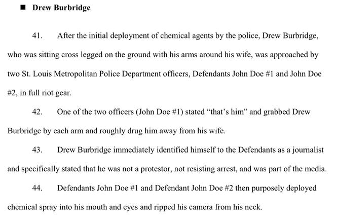 Drew Burbridge complaint