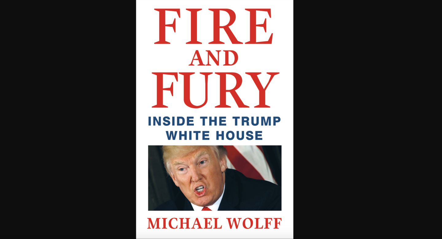 'Fire and Fury' cover