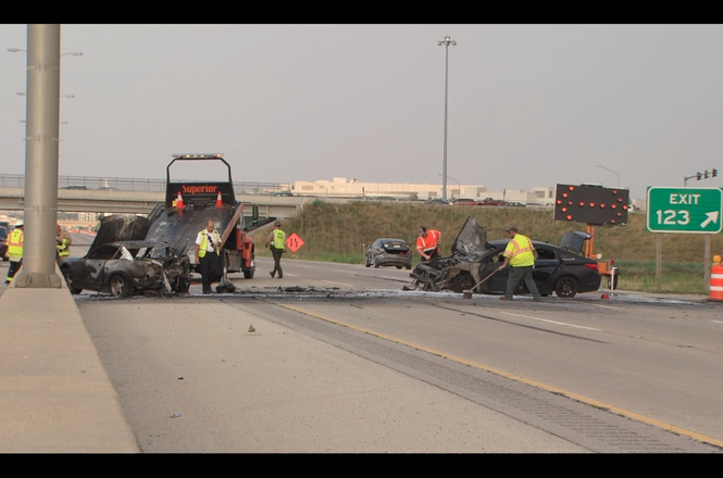 Illinois Tollway crash