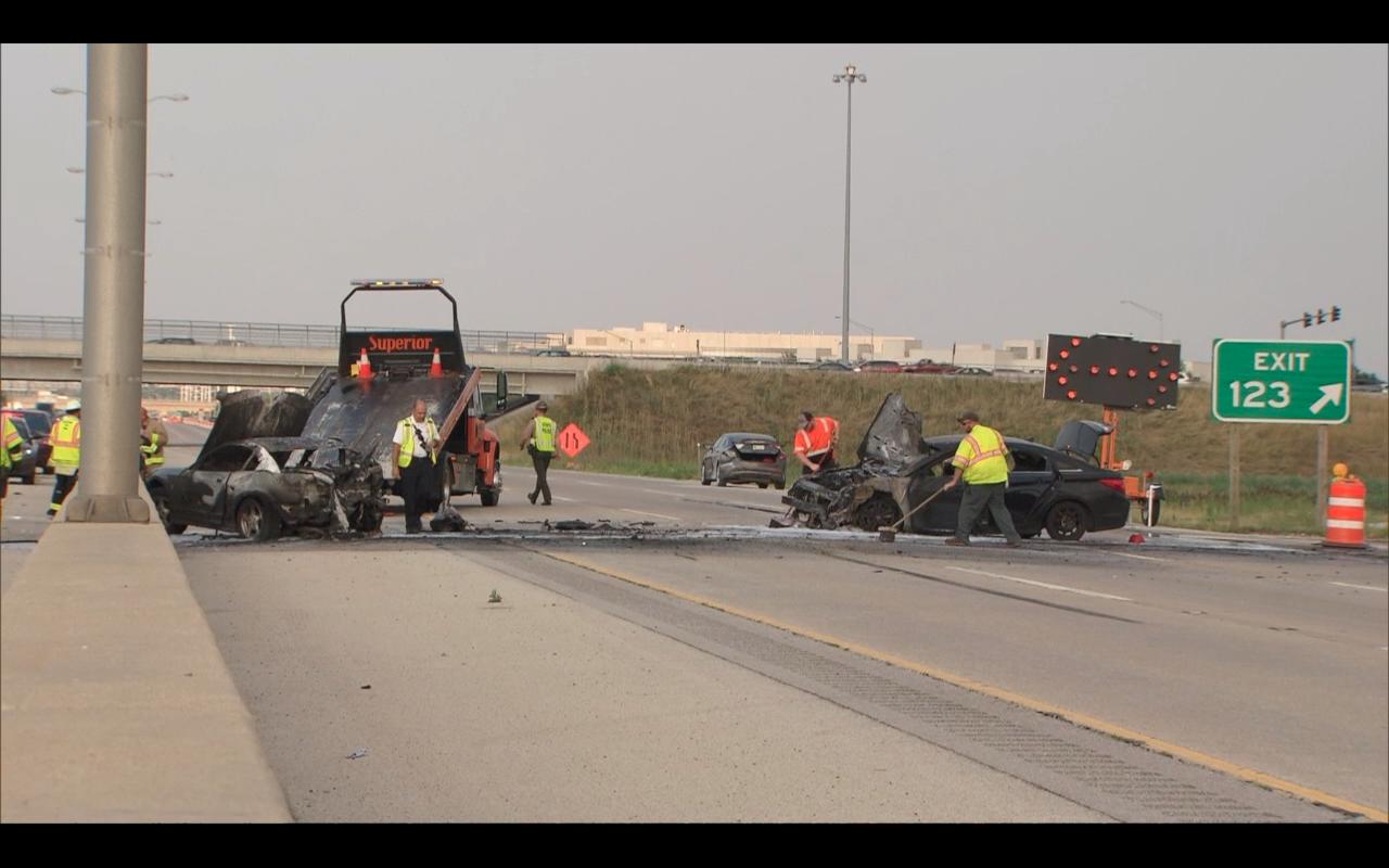 Illinois Tollway crash