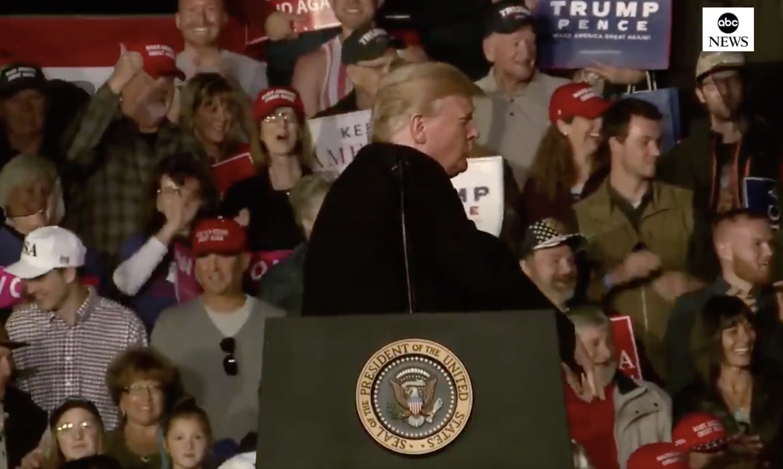 Trump mimes body-slamming reporter