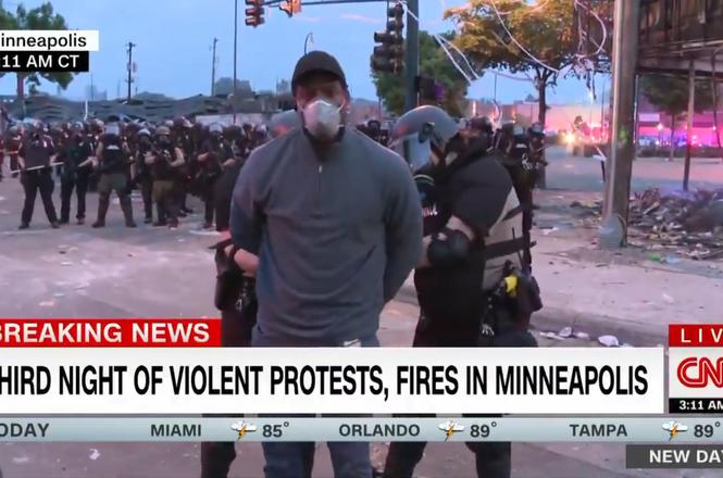 Floyd  protest_Jimenez_arrest