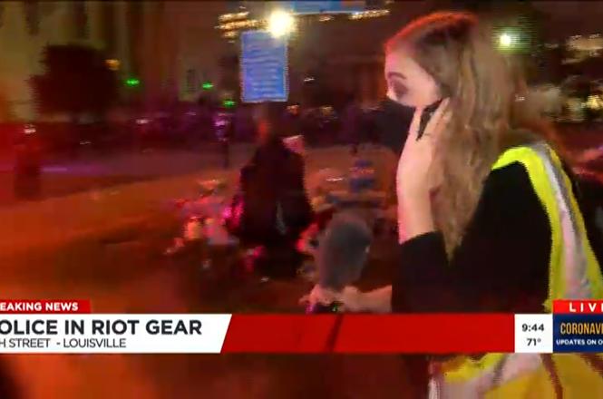 KY assault live _Floyd Taylor protest.png