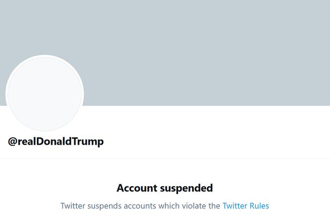 Account suspension