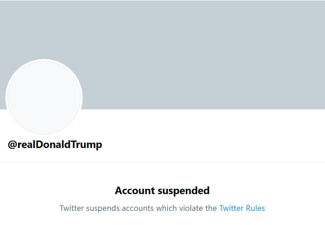 The Last Trump Tweet Against the Media