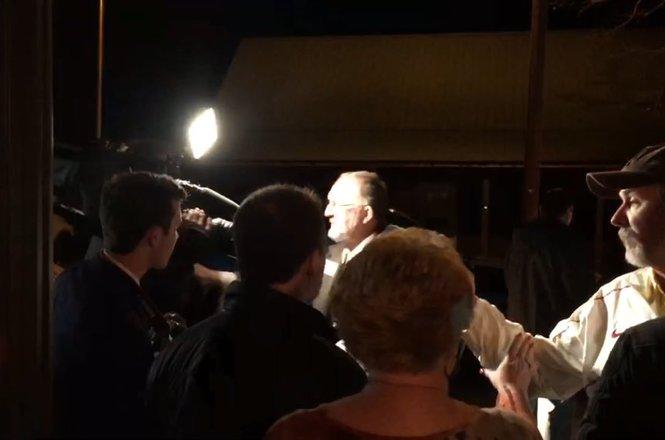 Tony Goolsby shoves Fox News camerman